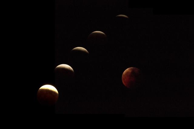 <皆既月食>新月満月の星読み・1/31 獅子座の満月